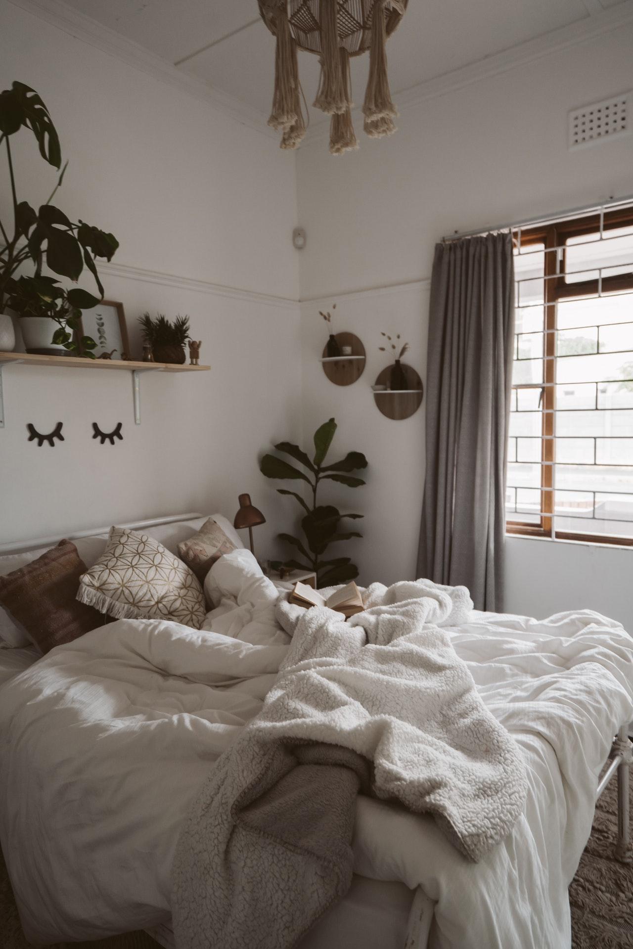 bed slaapkamer